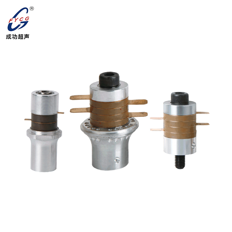 Ultrasonic transducer with low heat generation