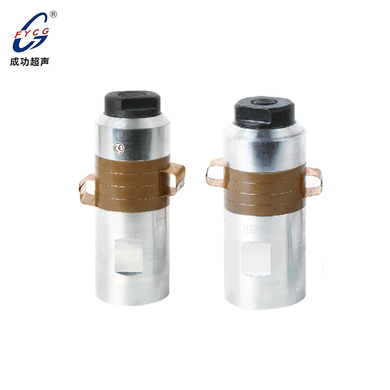 Geotechnical material welding transducer