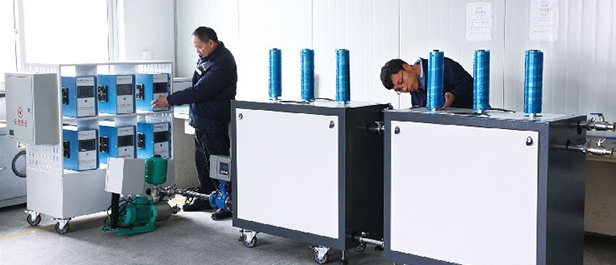 What is the quality of the successful ultrasonic dispersion production line?